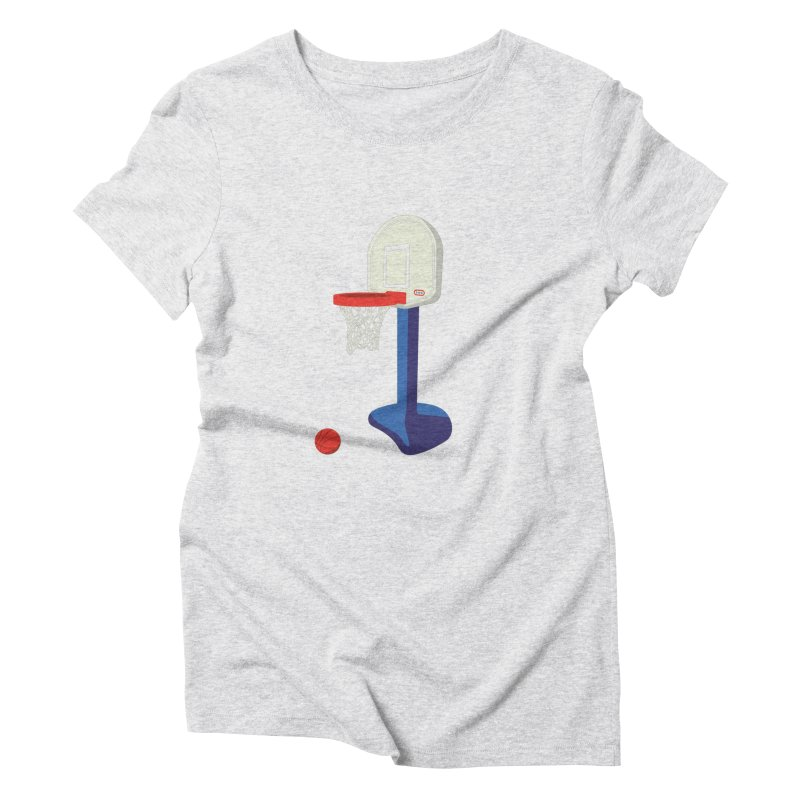 Little Hoop Big Games Women's T-Shirt by Sport'n Goods Artist Shop