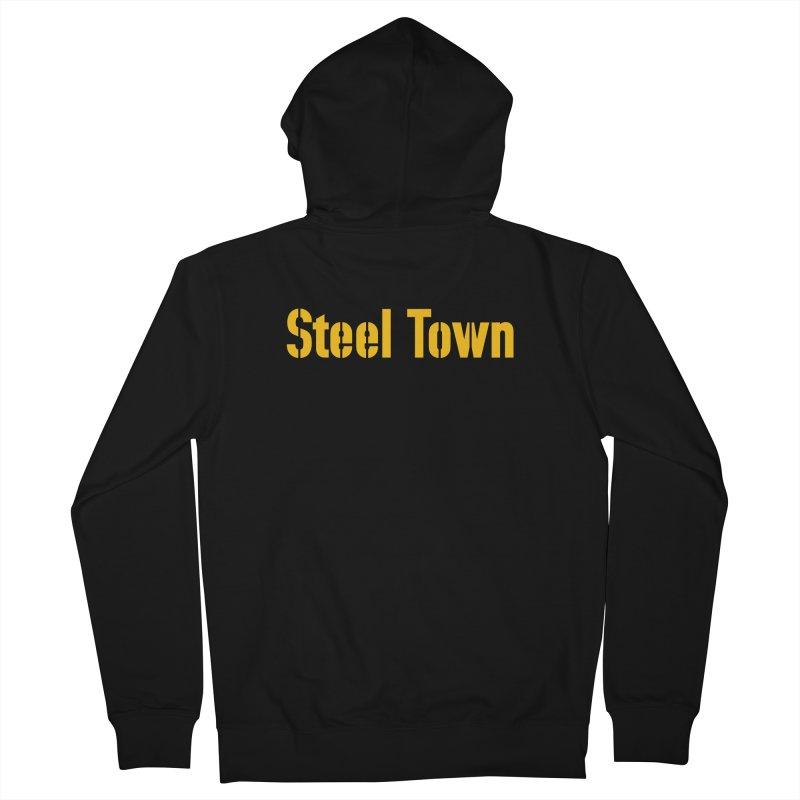 Steel Town Men's Zip-Up Hoody by Sport'n Goods Artist Shop