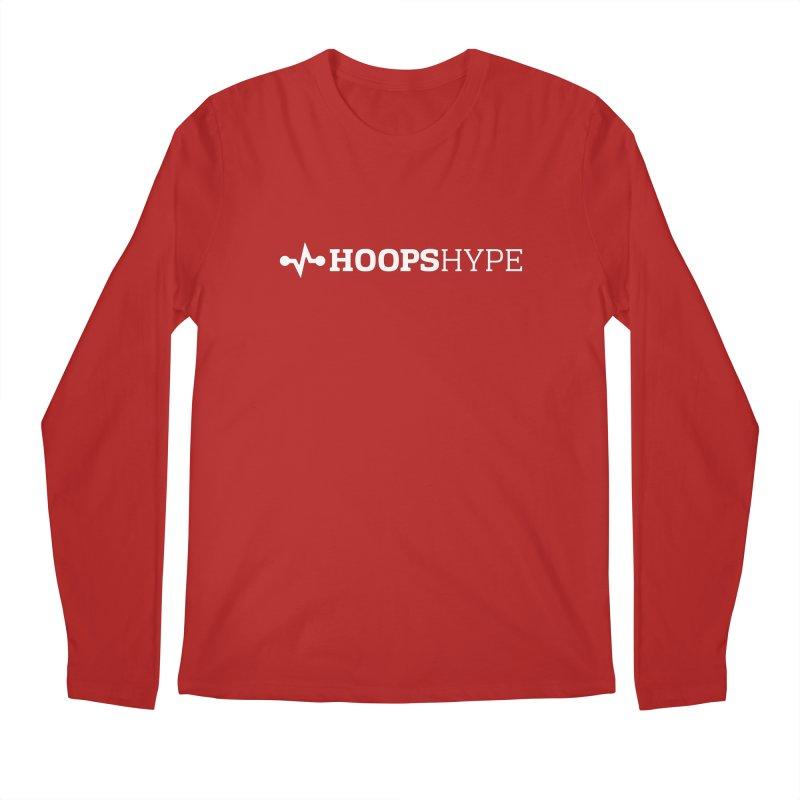 Hoops Hype - Heartbeat of Hoops Men's Longsleeve T-Shirt by Sport'n Goods Artist Shop