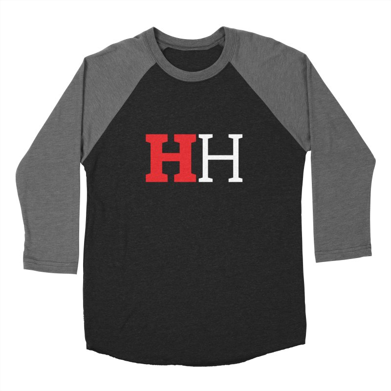 Hoops Hype HH  Women's Baseball Triblend Longsleeve T-Shirt by Sport'n Goods Artist Shop