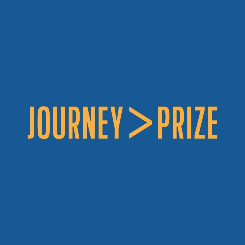 Journey > Prize Men's Triblend T-shirt by Sport'n Goods Artist Shop