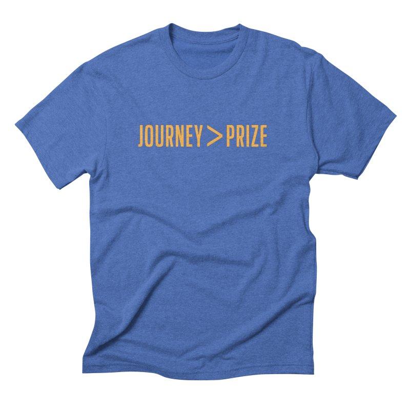 Journey > Prize in Men's Triblend T-shirt Blue Triblend by Sport'n Goods Artist Shop