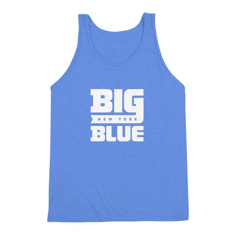 Big Blue Men's Triblend Tank by Sport'n Goods Artist Shop