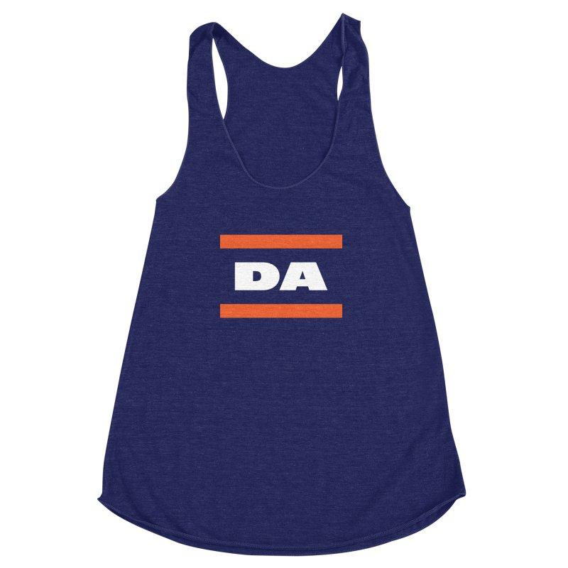 DA Women's Racerback Triblend Tank by Sport'n Goods Artist Shop