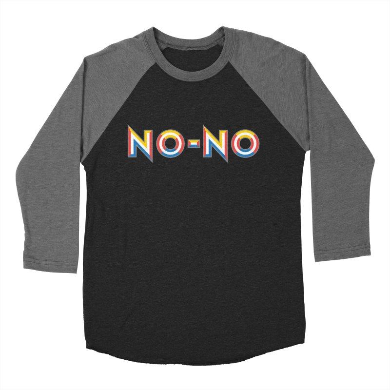No-No Men's Baseball Triblend T-Shirt by Sport'n Goods Artist Shop