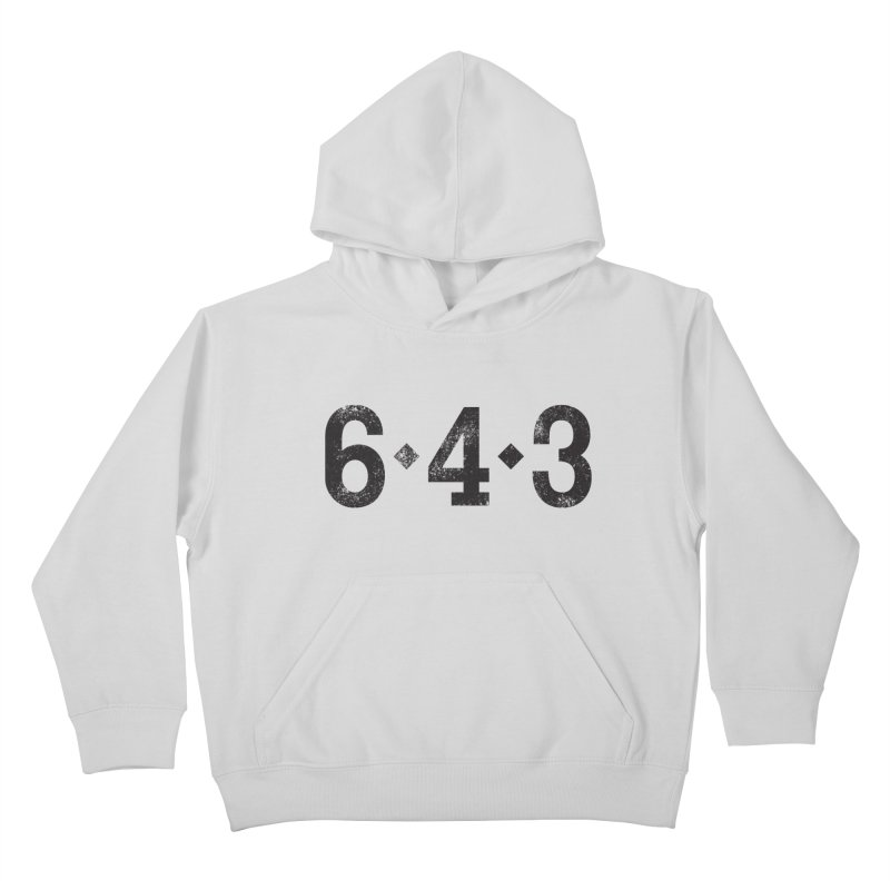 6 - 4 - 3 Kids Pullover Hoody by Sport'n Goods Artist Shop