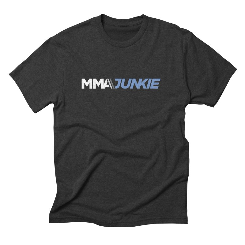 MMAjunkie Logo in Men's Triblend T-shirt Heather Onyx by Sport'n Goods Artist Shop