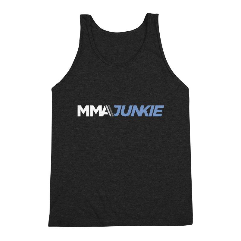 MMAjunkie Logo Men's Triblend Tank by Sport'n Goods Artist Shop