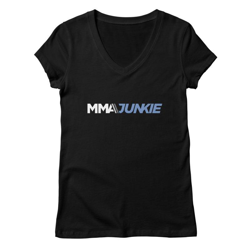 MMAjunkie Logo Women's V-Neck by Sport'n Goods Artist Shop