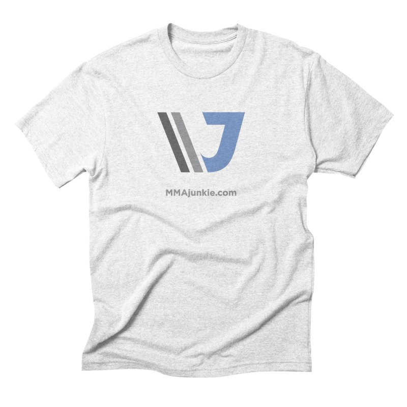 MMAjunkie Brand in Men's Triblend T-shirt Heather White by Sport'n Goods Artist Shop