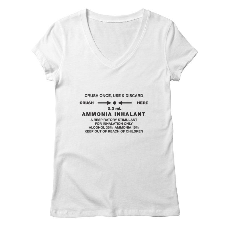 Smelling Salts Women's V-Neck by Sport'n Goods Artist Shop