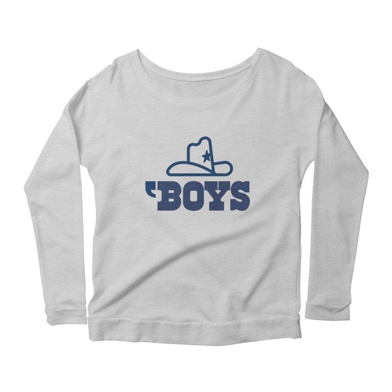 'Boys Women's Longsleeve Scoopneck  by Sport'n Goods Artist Shop