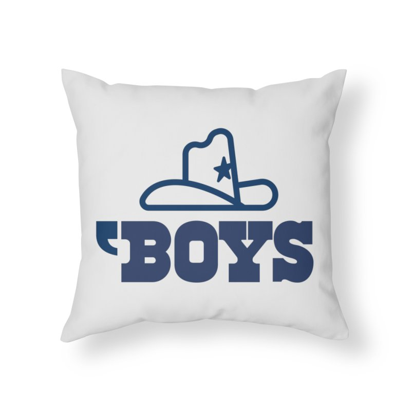 'Boys Home Throw Pillow by Sport'n Goods Artist Shop