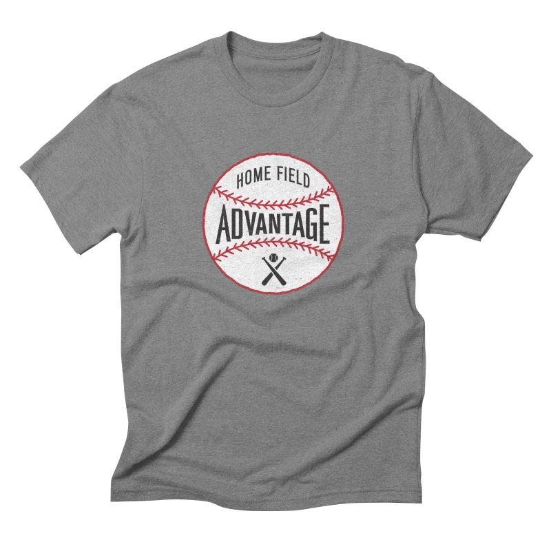Home Field Advantage Men's Triblend T-shirt by Sport'n Goods Artist Shop
