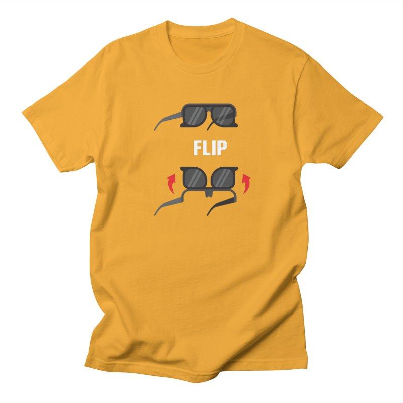 Flip Men's T-shirt by Sport'n Goods Artist Shop