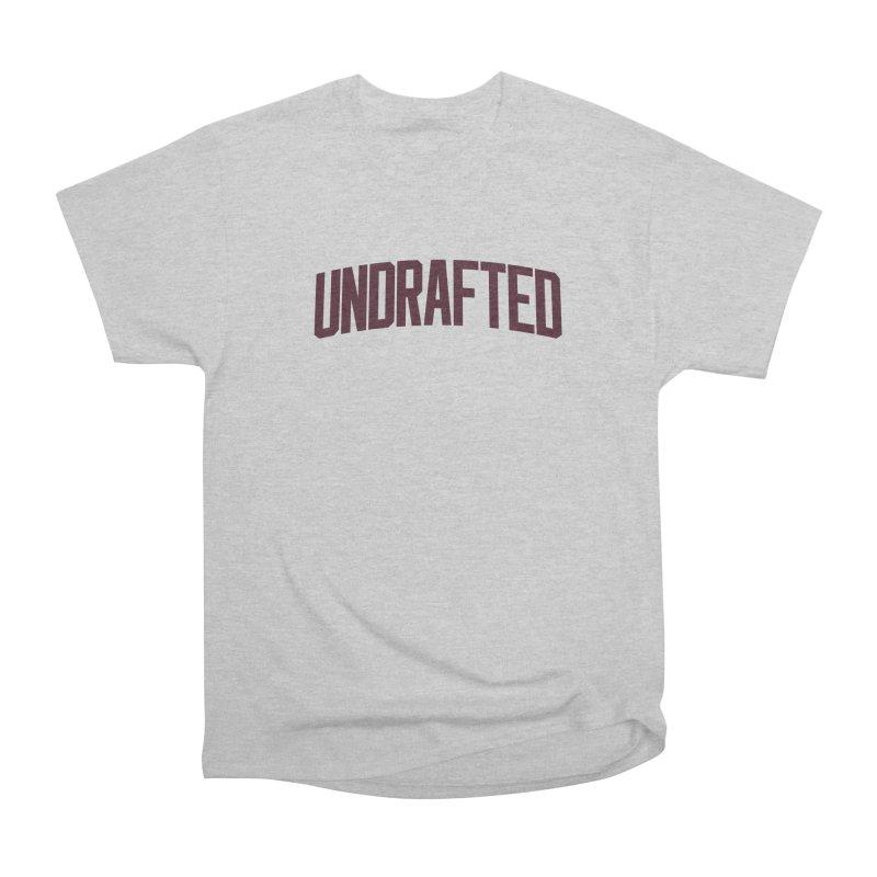 Undrafted Women's Classic Unisex T-Shirt by Sport'n Goods Artist Shop