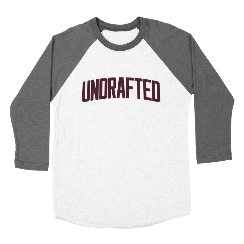 Undrafted Men's Baseball Triblend Longsleeve T-Shirt by Sport'n Goods Artist Shop