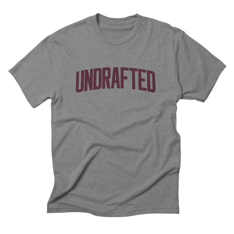Undrafted Men's Triblend T-shirt by Sport'n Goods Artist Shop