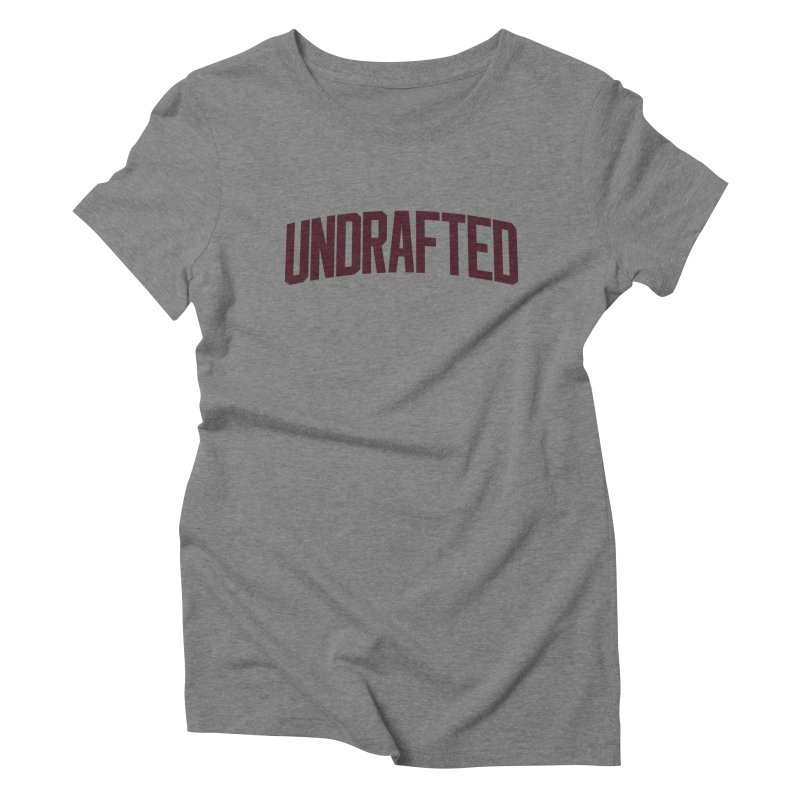 Undrafted Women's Triblend T-shirt by Sport'n Goods Artist Shop