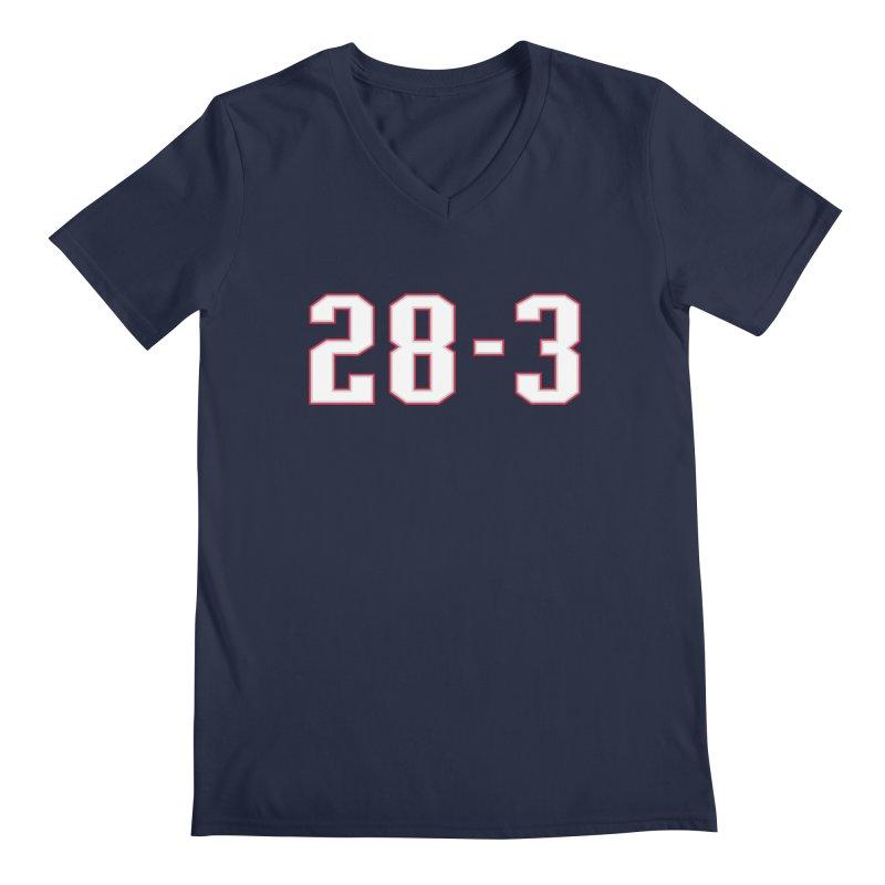 28-3 Men's V-Neck by Sport'n Goods Artist Shop