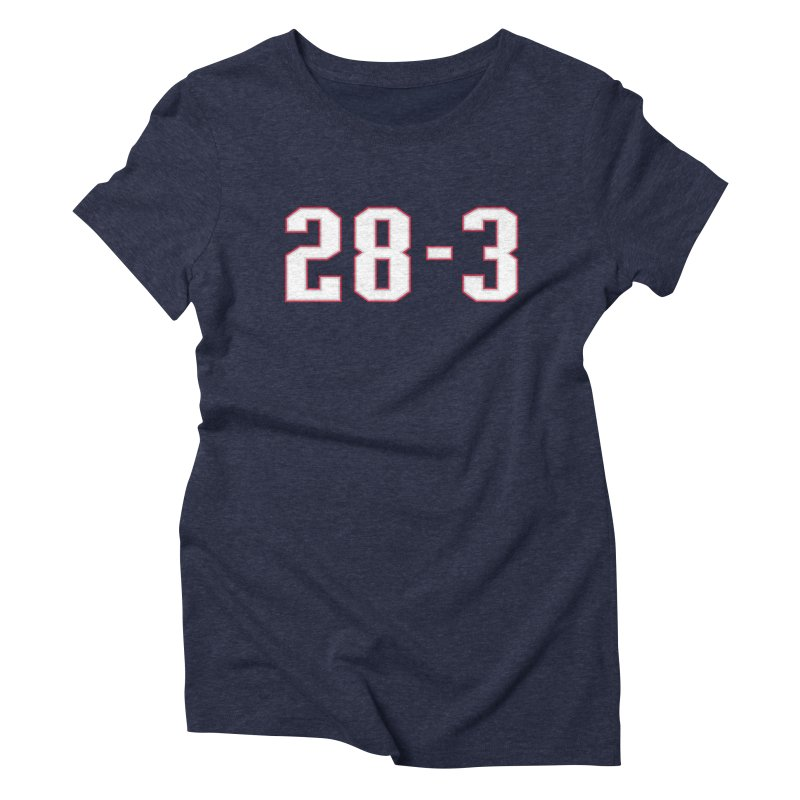 28-3 Women's Triblend T-shirt by Sport'n Goods Artist Shop