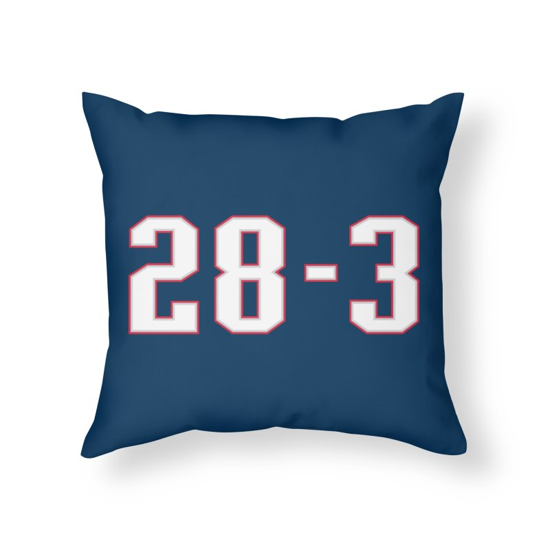 28-3 Home Throw Pillow by Sport'n Goods Artist Shop