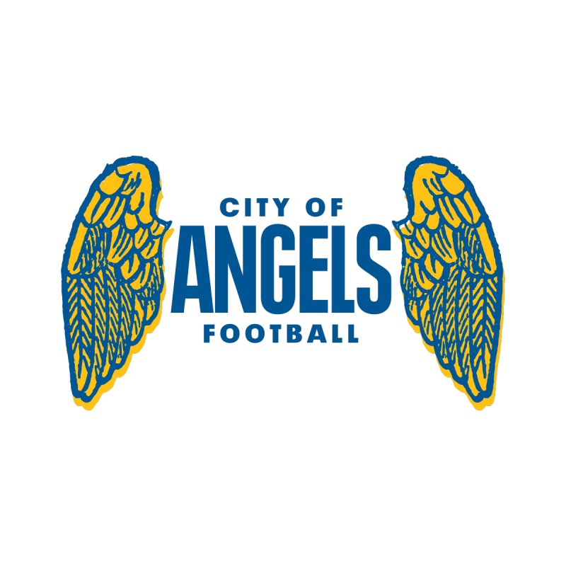 City of Angels Football by Sport'n Goods Artist Shop