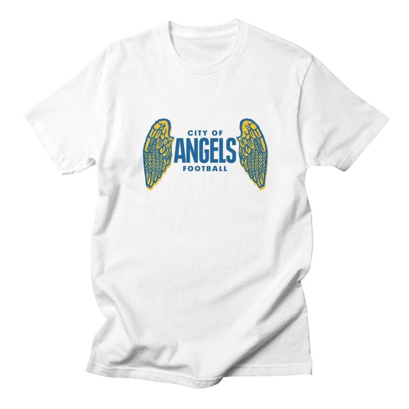 City of Angels Football Men's T-shirt by Sport'n Goods Artist Shop