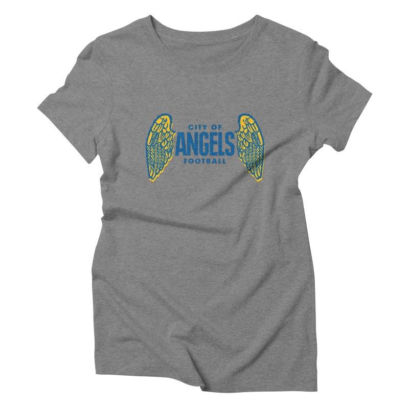 City of Angels Football Women's Triblend T-shirt by Sport'n Goods Artist Shop