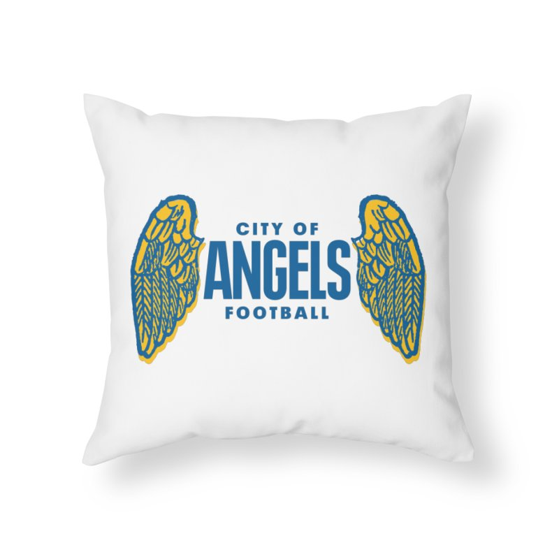 City of Angels Football Home Throw Pillow by Sport'n Goods Artist Shop