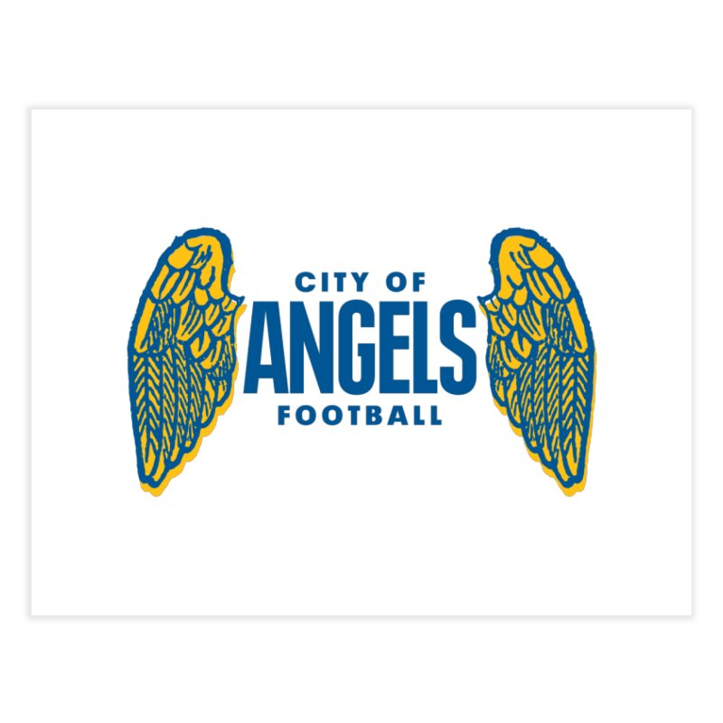 City of Angels Football Home Fine Art Print by Sport'n Goods Artist Shop