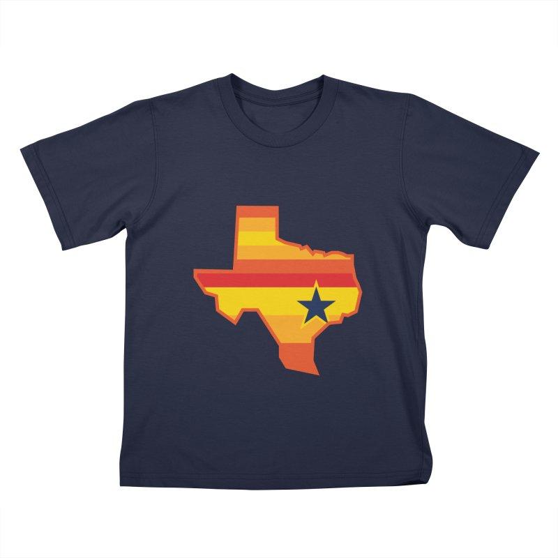 Tequila Sunrise Kids T-shirt by Sport'n Goods Artist Shop