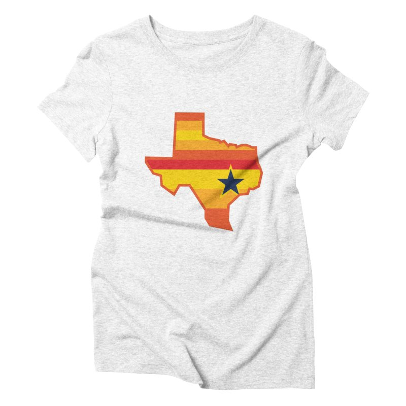 Tequila Sunrise Women's Triblend T-shirt by Sport'n Goods Artist Shop