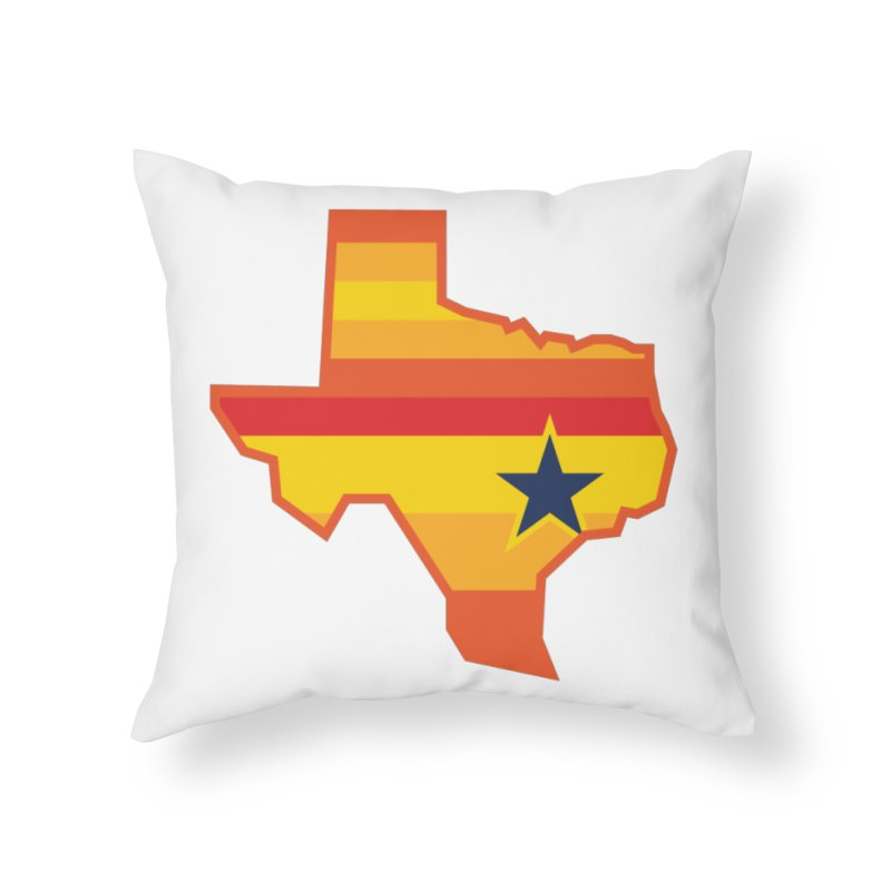 Tequila Sunrise Home Throw Pillow by Sport'n Goods Artist Shop