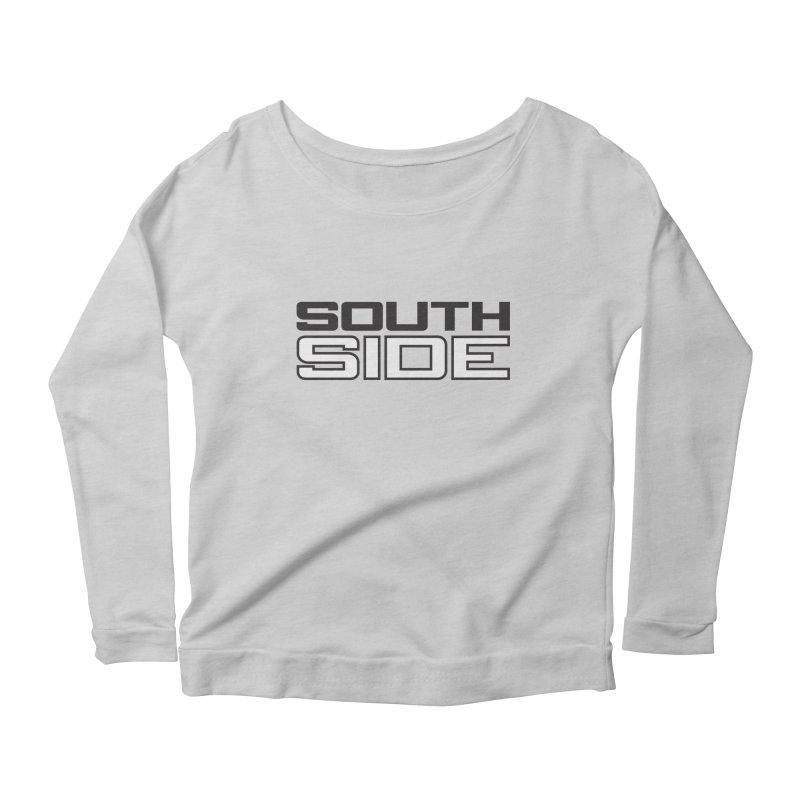 Southside Throwback Women's Longsleeve Scoopneck  by Sport'n Goods Artist Shop