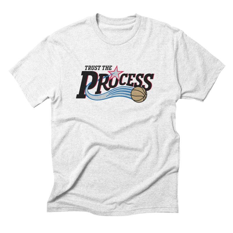 Trust the Process Men's Triblend T-shirt by Sport'n Goods Artist Shop
