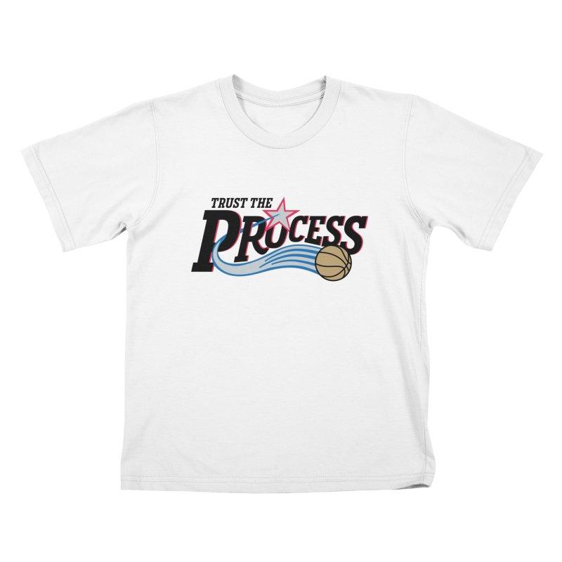 Trust the Process Kids T-Shirt by Sport'n Goods Artist Shop