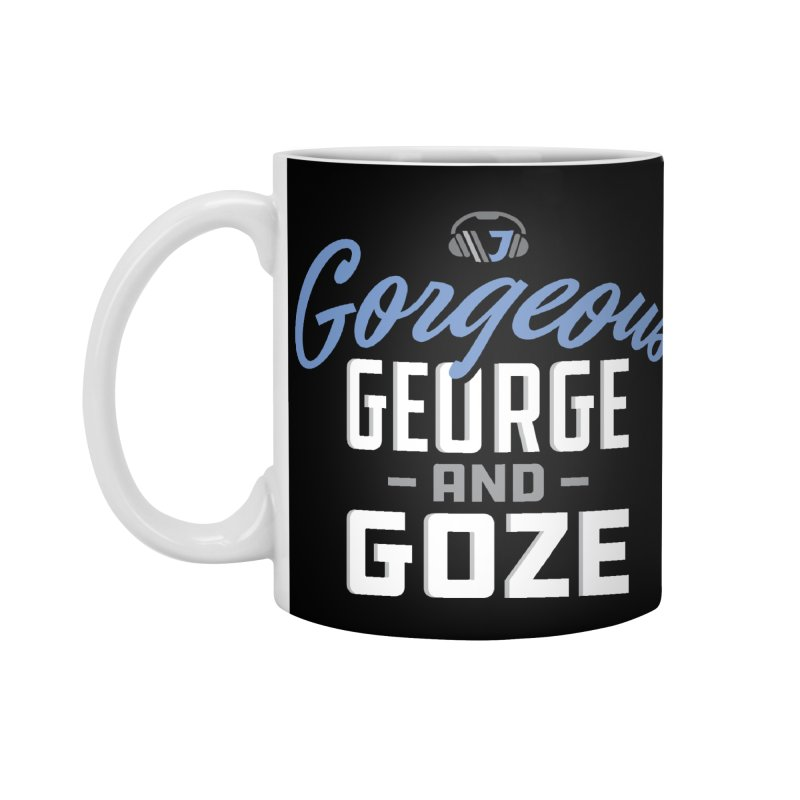 Gorgeous George and Goze Accessories Mug by Sport'n Goods Artist Shop