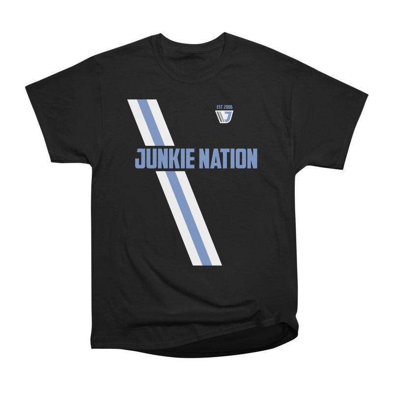 Junkie Nation soccer stripe Men's Classic T-Shirt by Sport'n Goods Artist Shop