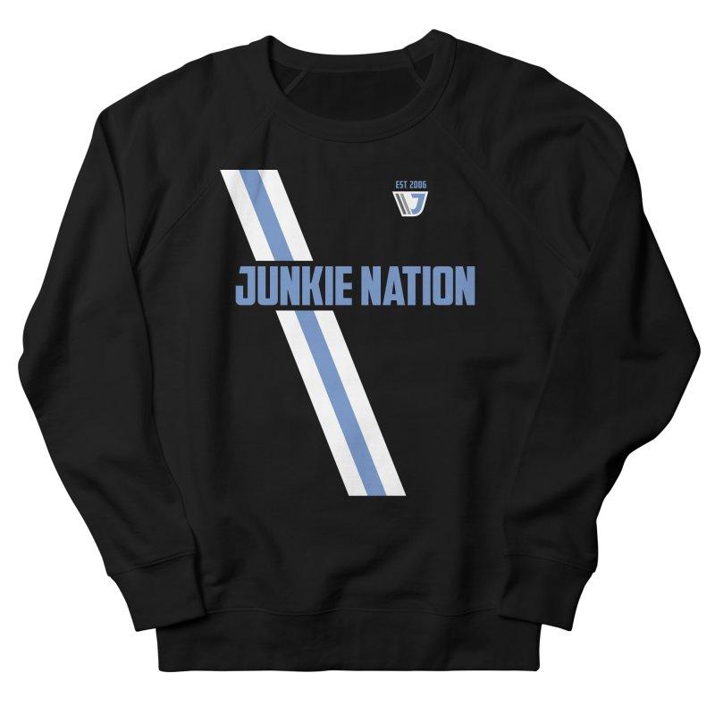 Junkie Nation soccer stripe Men's Sweatshirt by Sport'n Goods Artist Shop