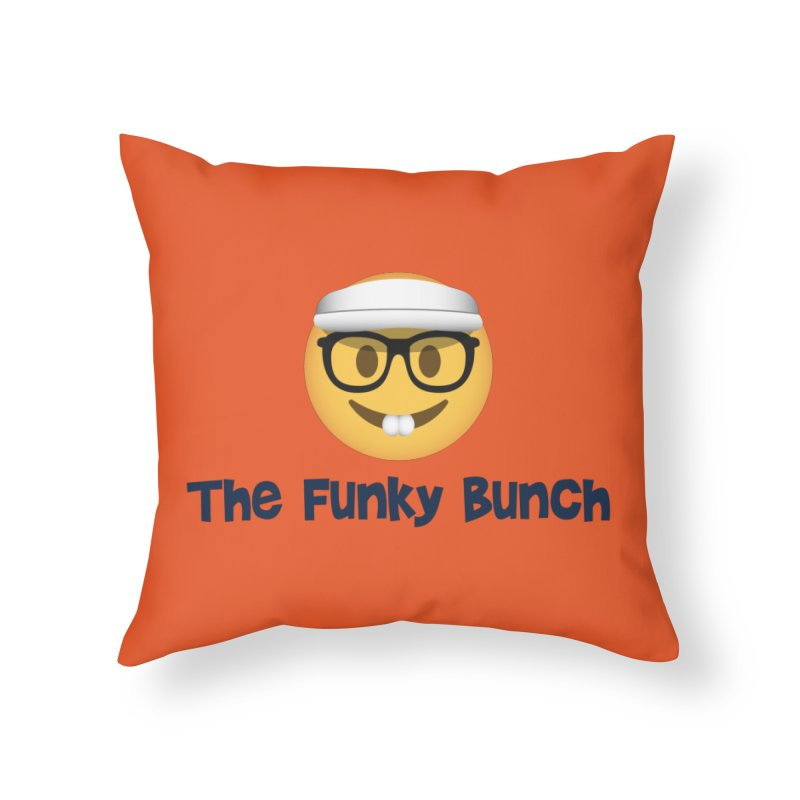 The Funky Bunch Home Throw Pillow by Sport'n Goods Artist Shop