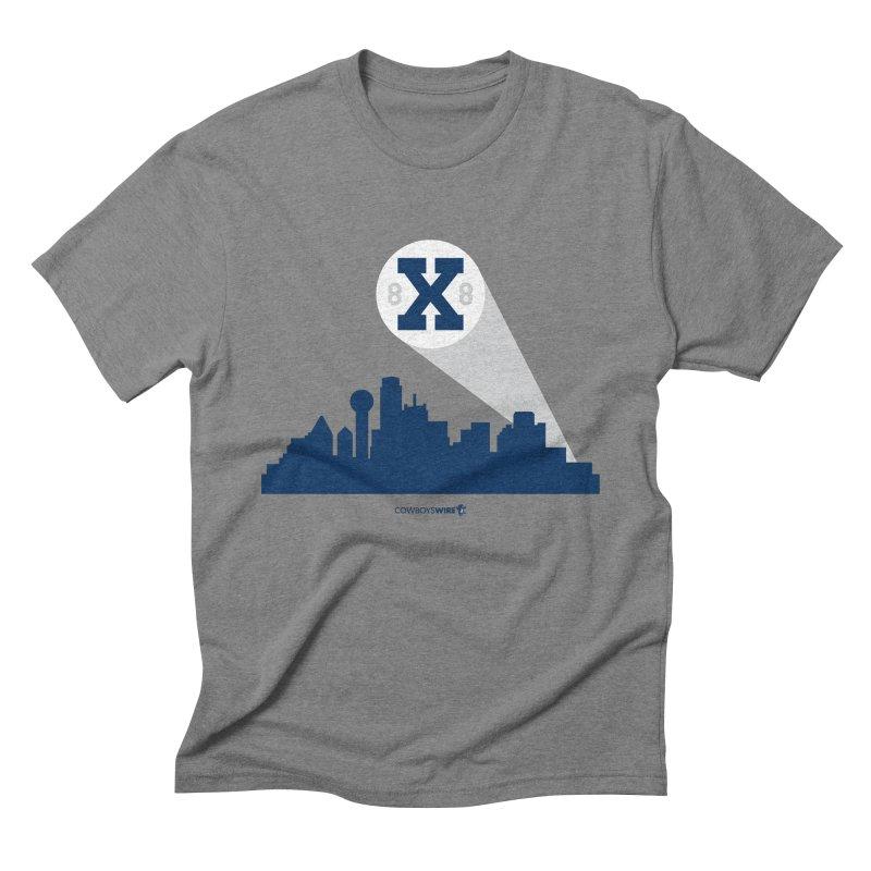 X Signal in Men's Triblend T-shirt Grey Triblend by Sport'n Goods Artist Shop