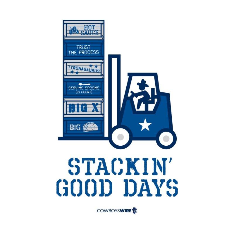 Stackin' Good Days Men's T-Shirt by Sport'n Goods Artist Shop