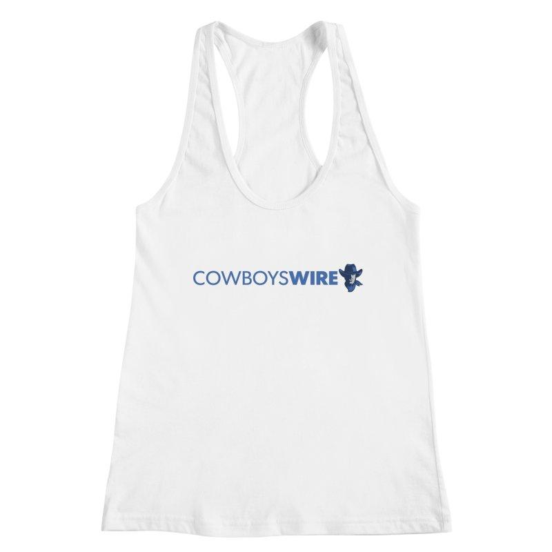 Cowboys Wire Women's Tank by Sport'n Goods Artist Shop