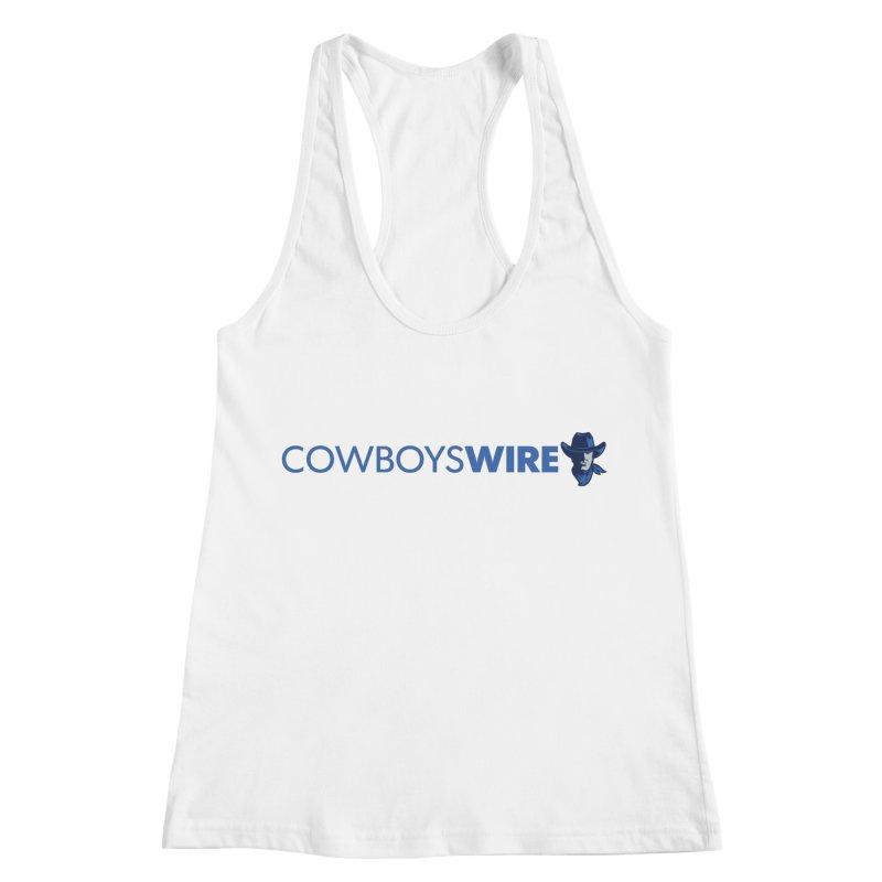 Cowboys Wire Women's Racerback Tank by Sport'n Goods Artist Shop