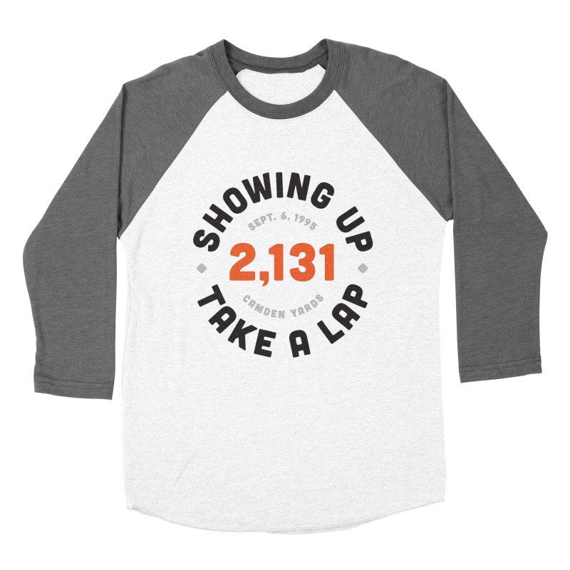Take A Lap Men's Baseball Triblend T-Shirt by Sport'n Goods Artist Shop