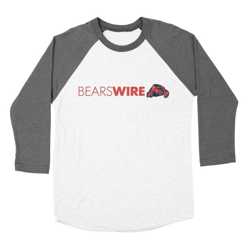 Bears Wire  Men's Baseball Triblend T-Shirt by Sport'n Goods Artist Shop