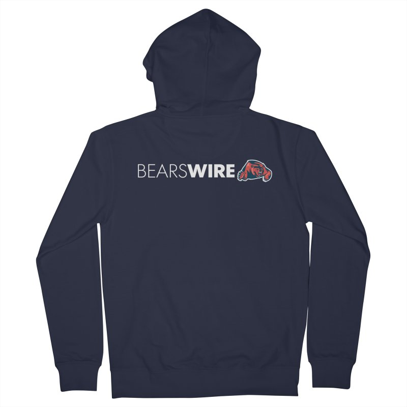 Bears Wire  Men's French Terry Zip-Up Hoody by Sport'n Goods Artist Shop