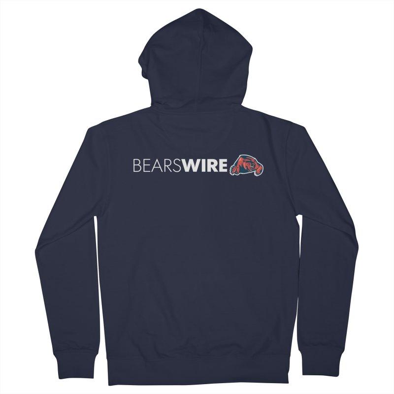 Bears Wire  Men's Zip-Up Hoody by Sport'n Goods Artist Shop