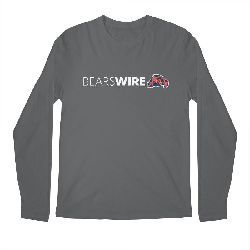 Bears Wire  Men's Longsleeve T-Shirt by Sport'n Goods Artist Shop